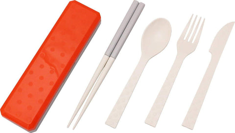 GO OUT Cutlery | Flame Red