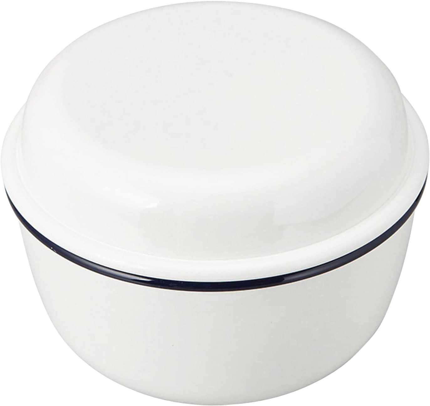 Takenaka Retro Moda Lunch Bowl | White & Navy