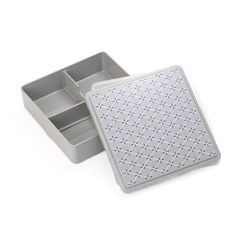 Gel-Cool Ojyu Shokado Bento Box | Gray by Gel Cool - Bento&co Japanese Bento Lunch Boxes and Kitchenware Specialists