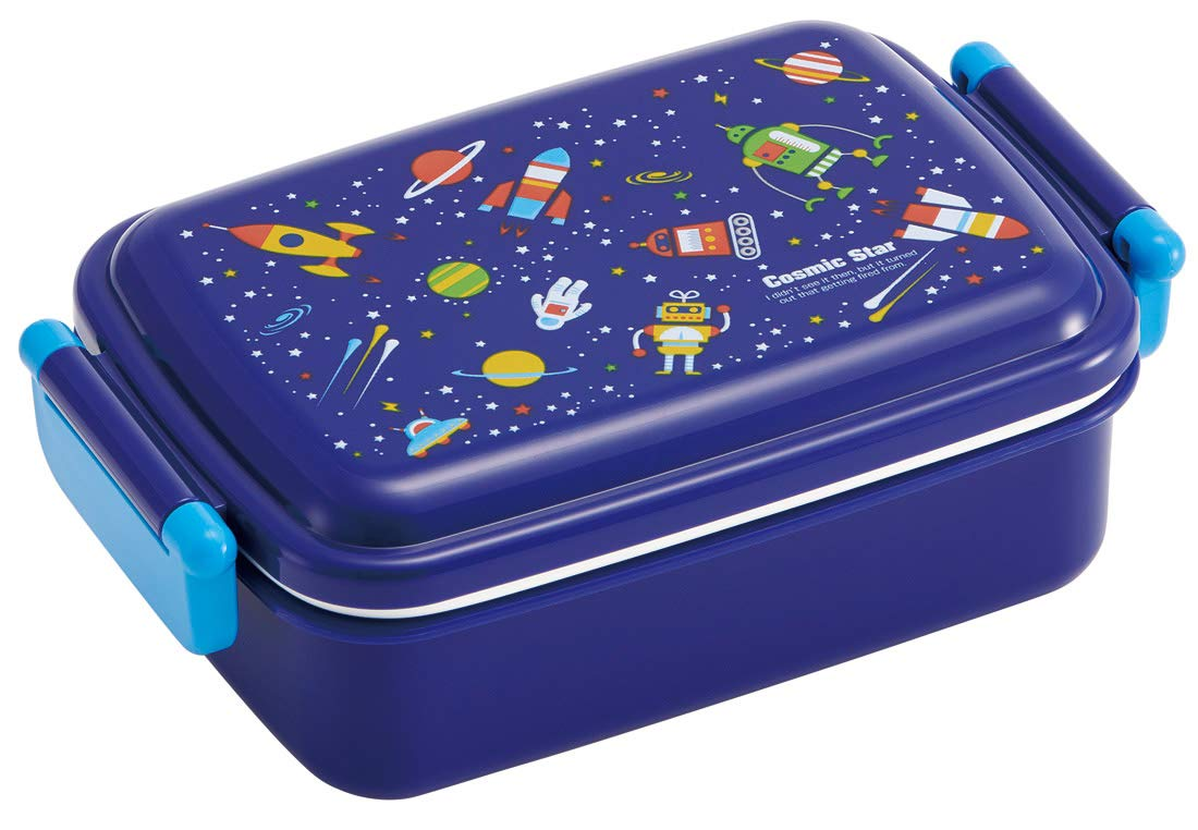 Cosmic Star Side Lock Bento Box | Rectangle by Skater - Bento&co Japanese Bento Lunch Boxes and Kitchenware Specialists