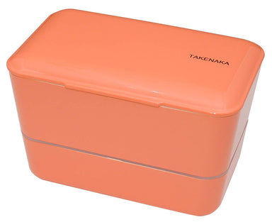 Expanded Double Bento Box | Coral by Takenaka - Bento&co Japanese Bento Lunch Boxes and Kitchenware Specialists