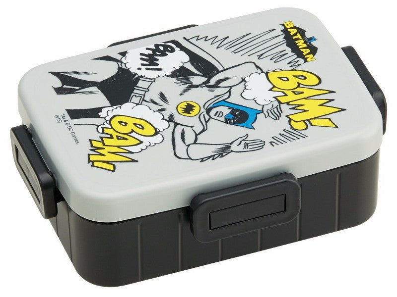 Batman 4 Side Locks Bento Box by Skater - Bento&con the Bento Boxes specialist from Kyoto