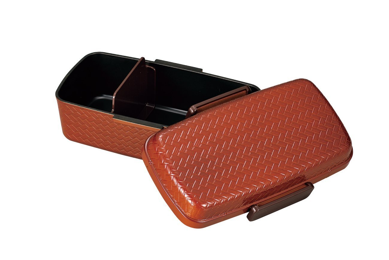 Ajiro Bento Box 800ml Light Brown by Hakoya - Bento&co Japanese Bento Lunch Boxes and Kitchenware Specialists