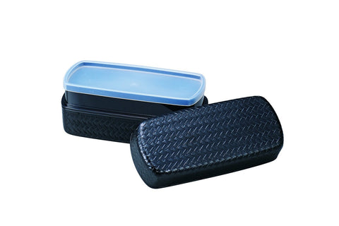 Ajiro Bento Box 950ml Black by Hakoya - Bento&co Japanese Bento Lunch Boxes and Kitchenware Specialists