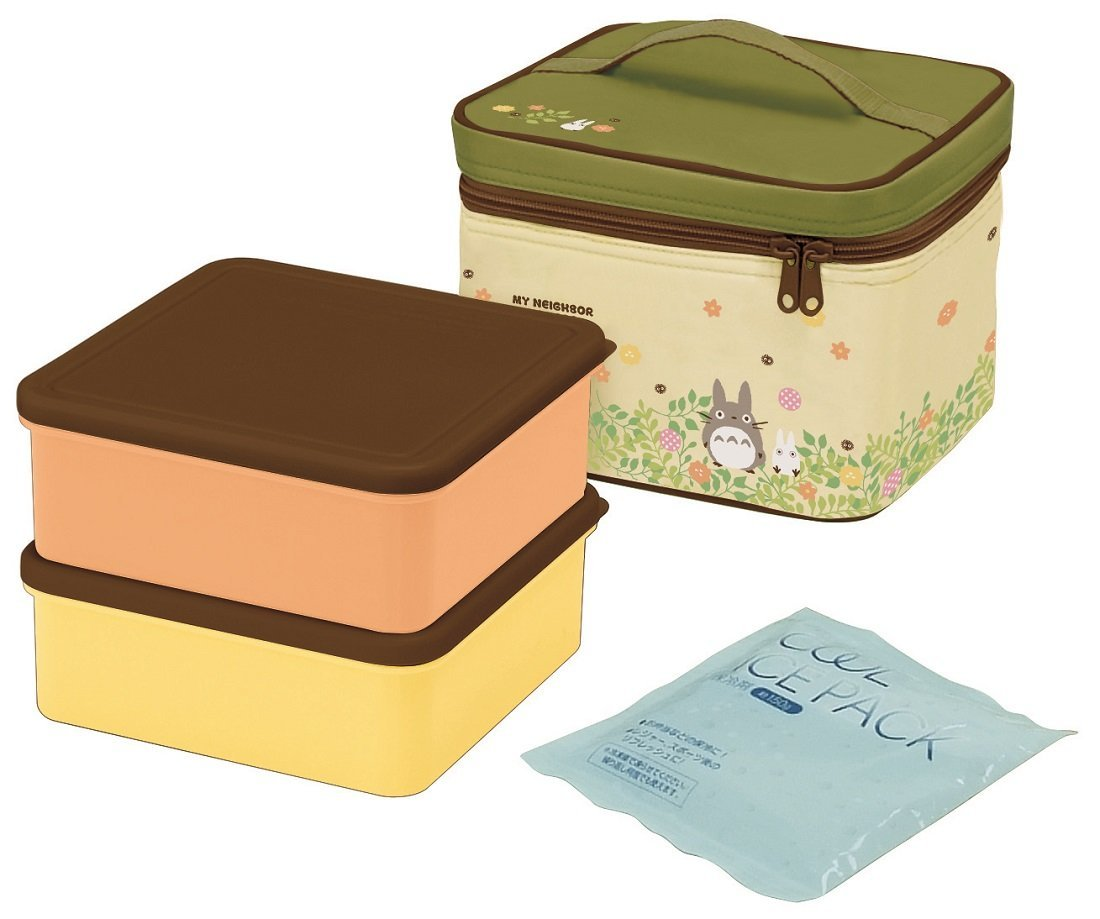 Totoro Plants Picnic Set by Skater - Bento&co Japanese Bento Lunch Boxes and Kitchenware Specialists
