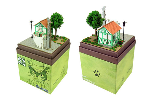 Miniatuart | The Cat's Repayment : Muta and the Cat's office by Sankei - Bento&con the Bento Boxes specialist from Kyoto