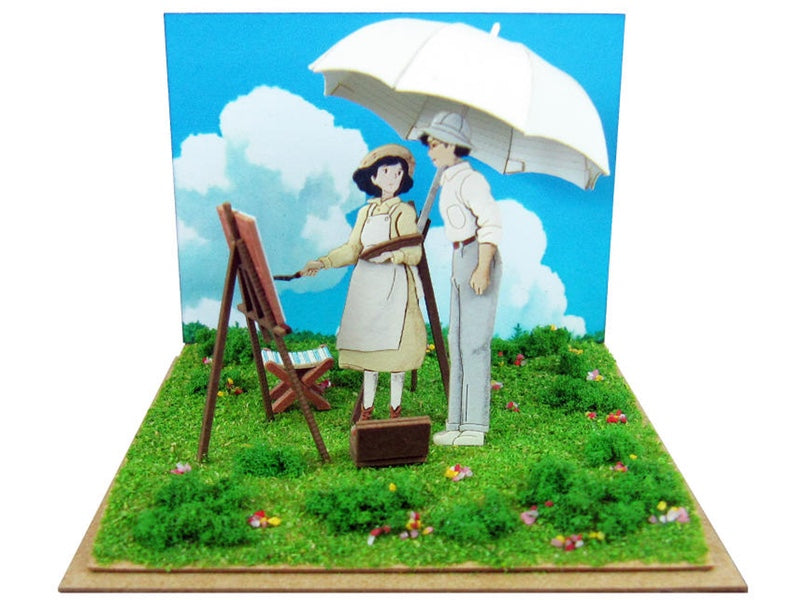 Miniatuart | The Wind Rises : Painting In The Wind by Sankei - Bento&co Japanese Bento Lunch Boxes and Kitchenware Specialists