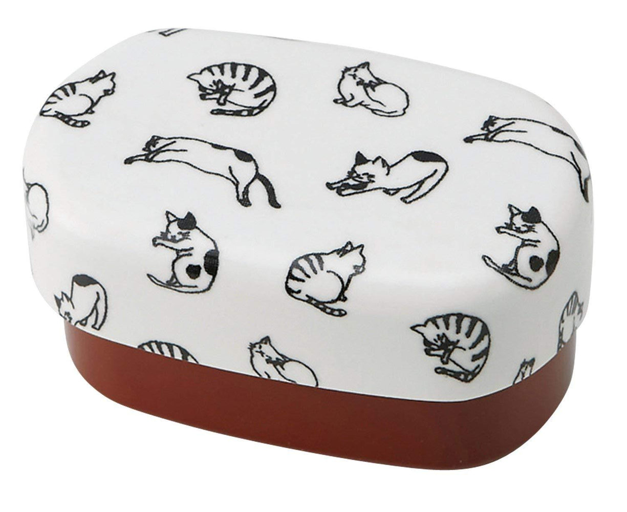Retro cat Bento Box | Red