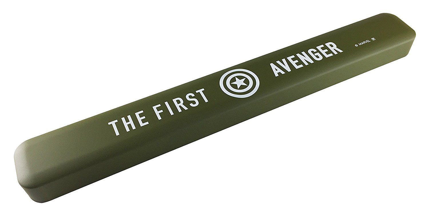 Avengers Captain America Chopstick Case- Green and Black by Yaxell - Bento&con the Bento Boxes specialist from Kyoto
