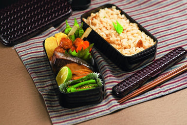Ajiro Bento Box L size 1000ml by Hakoya - Bento&co Japanese Bento Lunch Boxes and Kitchenware Specialists