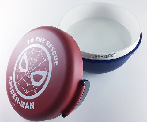Spiderman Bowl Bento - Red and Blue