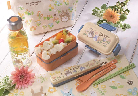 Totoro Flower Trio Cutlery Set