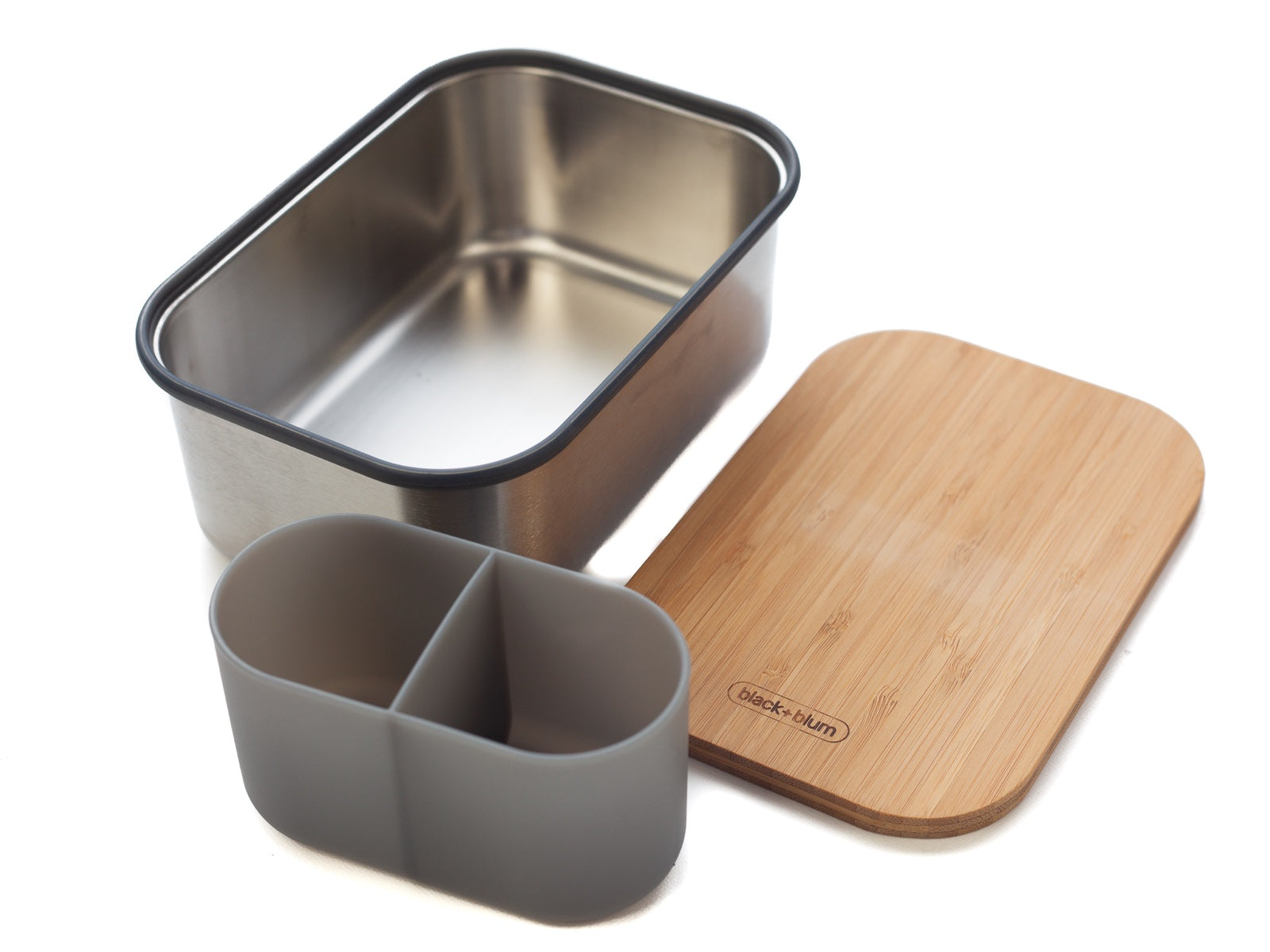 Black+Blum Stainless Steel Sandwich Box Large | Olive