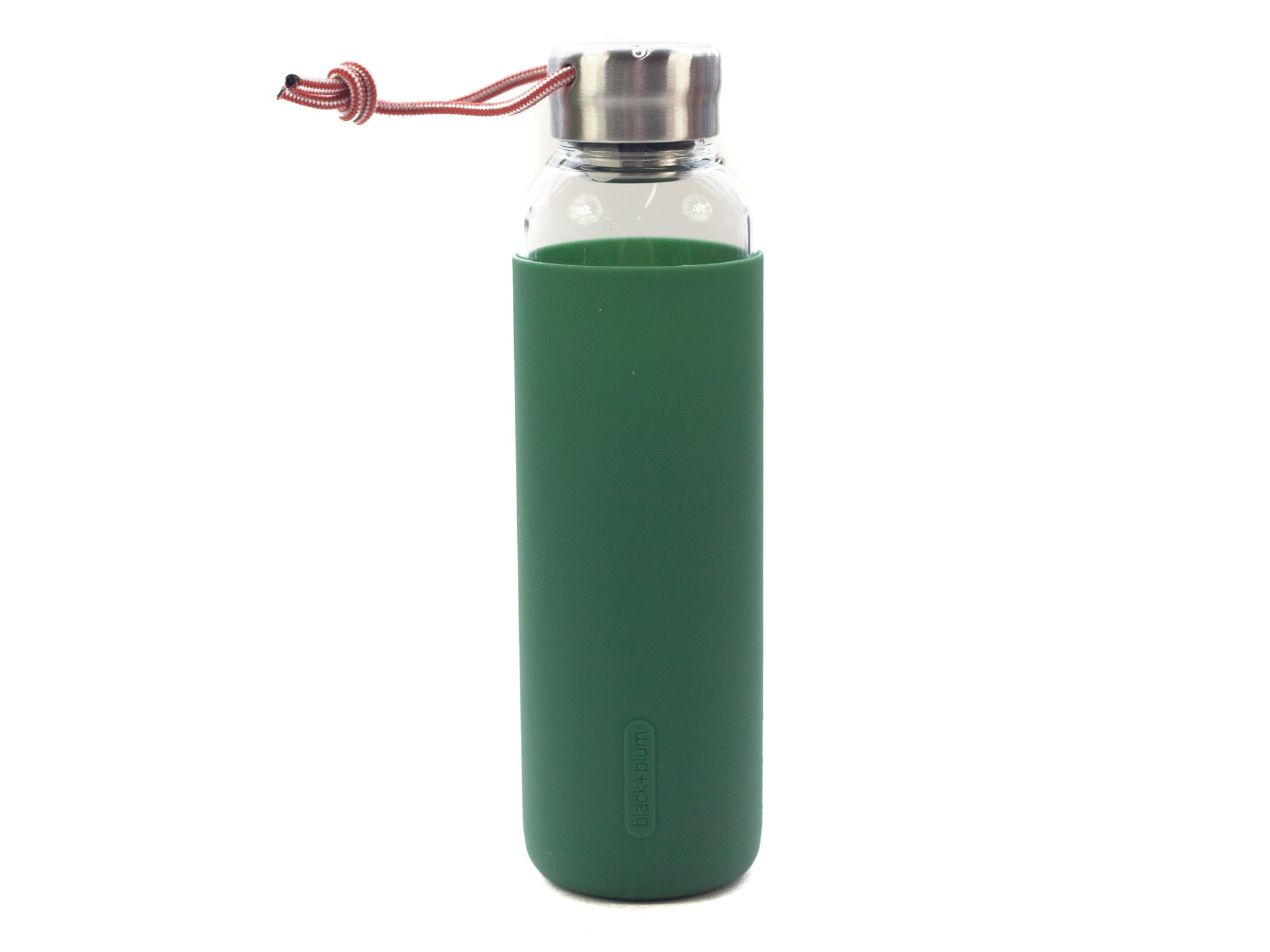 Black+Blum Glass Water Bottle | Olive