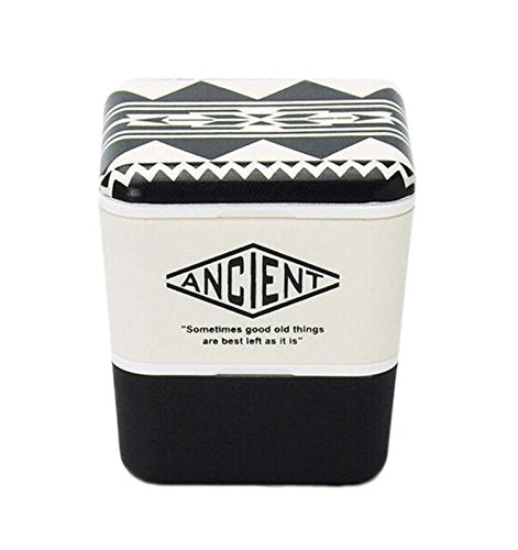 Ancient Square Nest Urban Native (Black) by Showa - Bento&con the Bento Boxes specialist from Kyoto
