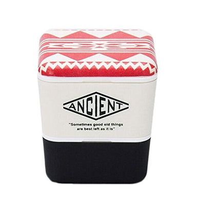 Ancient Square Nest Urban Native (Red) by Showa - Bento&co Japanese Bento Lunch Boxes and Kitchenware Specialists