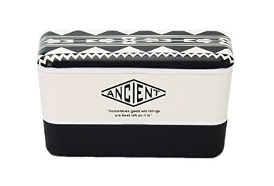 Ancient Nest Urban Native (Black) L by Showa - Bento&co Japanese Bento Lunch Boxes and Kitchenware Specialists