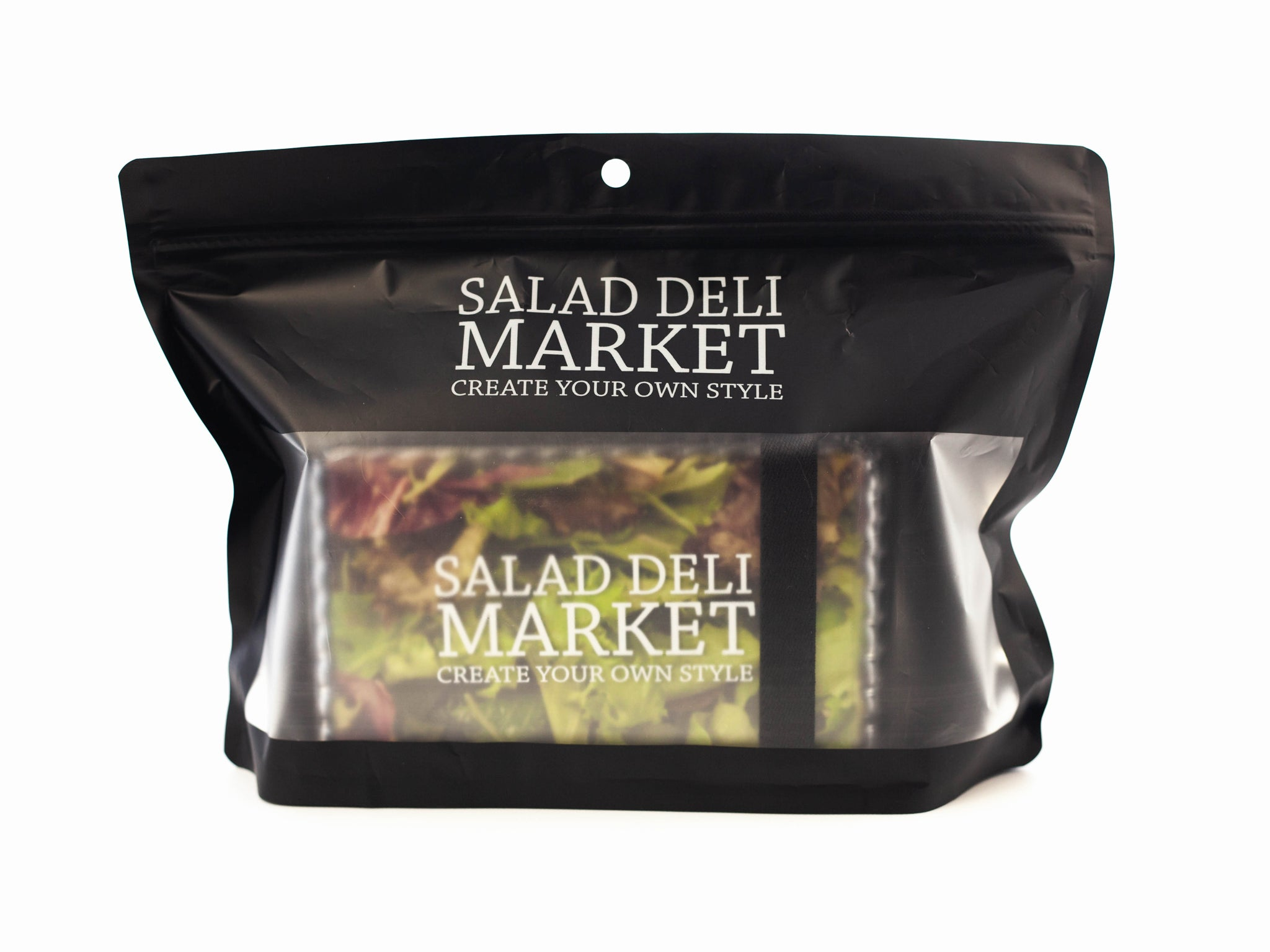 Salad Deli Market Bento Box | Black by Showa - Bento&co Japanese Bento Lunch Boxes and Kitchenware Specialists