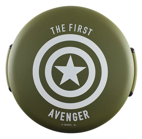 Avengers Captain America Bowl Bento - Military Green and White by Yaxell - Bento&con the Bento Boxes specialist from Kyoto