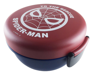 Spiderman Bowl Bento - Red and Blue by Yaxell - Bento&co Japanese Bento Lunch Boxes and Kitchenware Specialists