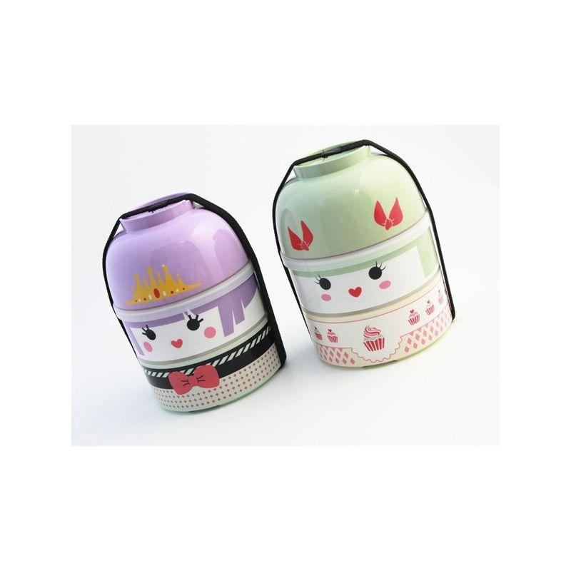 Kokeshi Bento Big | Lolita Ayame by Bento&co - Bento&co Japanese Bento Lunch Boxes and Kitchenware Specialists