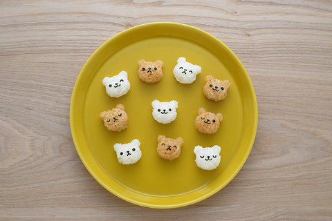 Bear Mini Onigiri Mold by Arnest - Bento&co Japanese Bento Lunch Boxes and Kitchenware Specialists