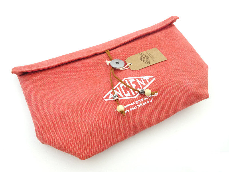 Ancient & Chic Lunch Bag | Red by Showa - Bento&co Japanese Bento Lunch Boxes and Kitchenware Specialists