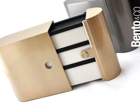 Bento Colors Metallic | Gold by Showa - Bento&co Japanese Bento Lunch Boxes and Kitchenware Specialists