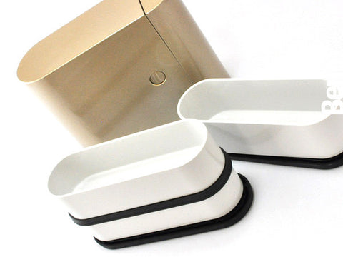 Bento Colors Metallic | Silver by Showa - Bento&con the Bento Boxes specialist from Kyoto