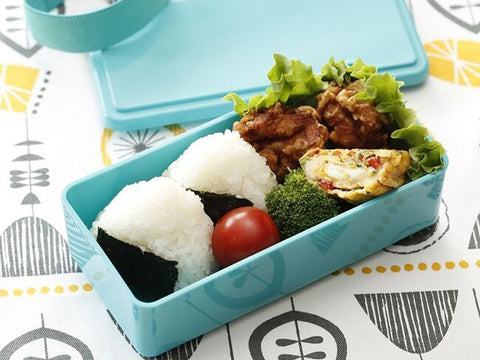 Gel-Cool Rectangle Bento Box | Gorgonzola Blue by Gel Cool - Bento&co Japanese Bento Lunch Boxes and Kitchenware Specialists