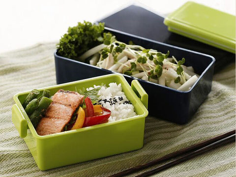 Gel-Cool Rectangle Bento Box | Olive Green by Gel Cool - Bento&co Japanese Bento Lunch Boxes and Kitchenware Specialists