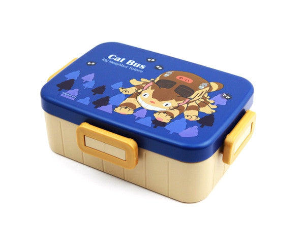 Totoro Cat Bus Side Lock Bento Box by Skater - Bento&co Japanese Bento Lunch Boxes and Kitchenware Specialists