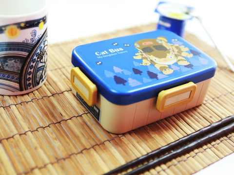 totoro bento boxes, cat bus lunch box, lunch box ghibli