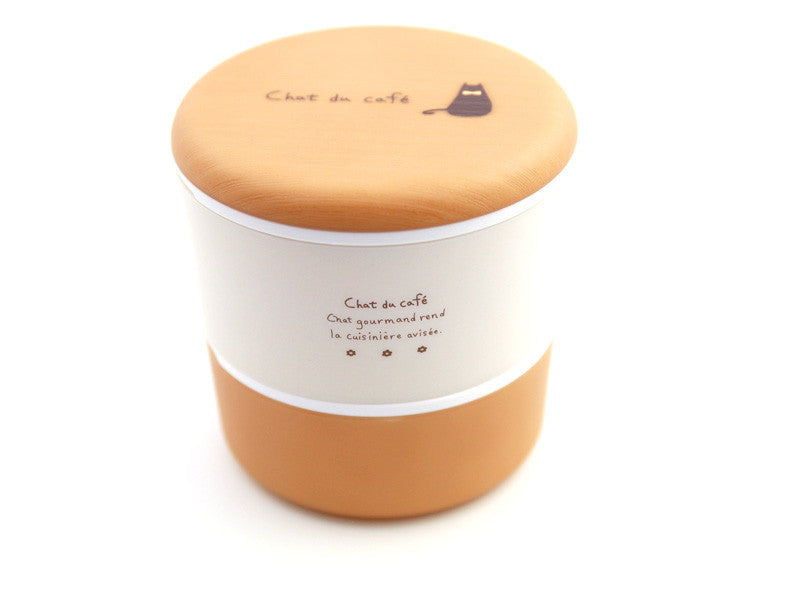 Chat du Café Round Bento Box | Natural by Showa - Bento&con the Bento Boxes specialist from Kyoto