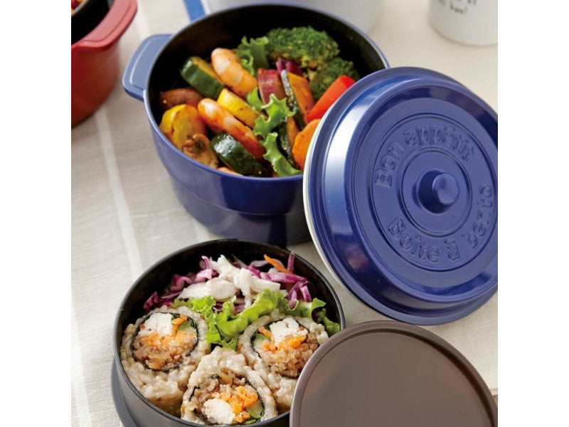 Cocopot Ronde Bento Box | Blue by Takenaka - Bento&co Japanese Bento Lunch Boxes and Kitchenware Specialists