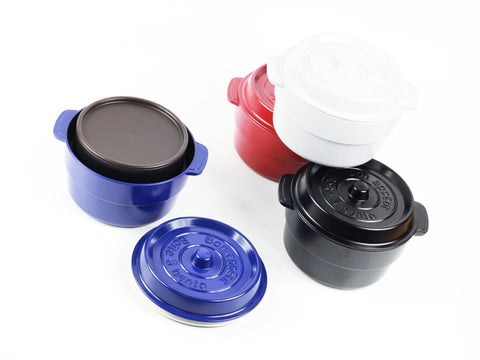 Cocopot Ronde Bento Box | Black by Takenaka - Bento&co Japanese Bento Lunch Boxes and Kitchenware Specialists