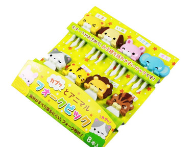 Cuddly Animal Picks by Torune - Bento&co Japanese Bento Lunch Boxes and Kitchenware Specialists