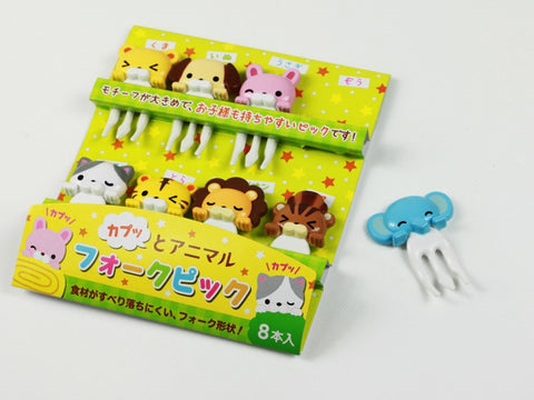 Cuddly Animal Picks by Torune - Bento&con the Bento Boxes specialist from Kyoto