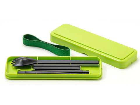BENTO-STORE SLIM Cutlery GR by Gel Cool - Bento&con the Bento Boxes specialist from Kyoto