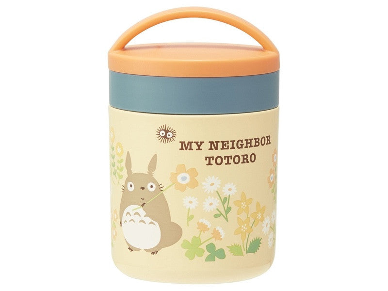 Totoro Delica Pot Orange by Skater - Bento&co Japanese Bento Lunch Boxes and Kitchenware Specialists