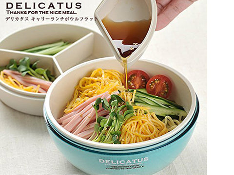 Delicatus Lunch Bowl Flat | Pink by Sabu Hiromori - Bento&con the Bento Boxes specialist from Kyoto