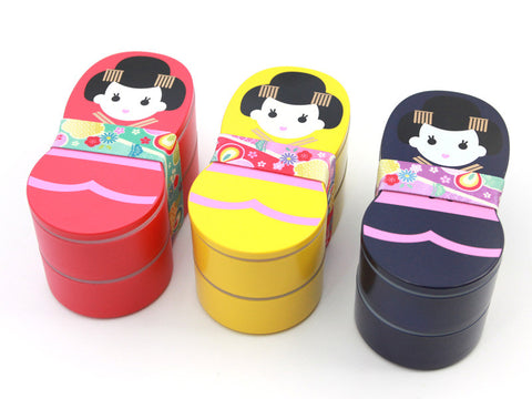 Dolls Lunch Box | Blue by Hakoya - Bento&con the Bento Boxes specialist from Kyoto