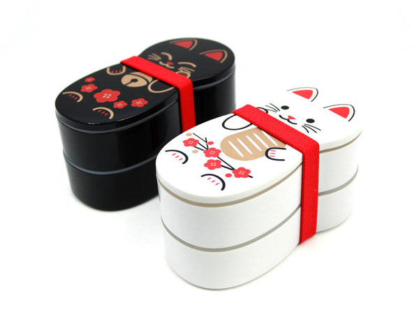doll bento box cat