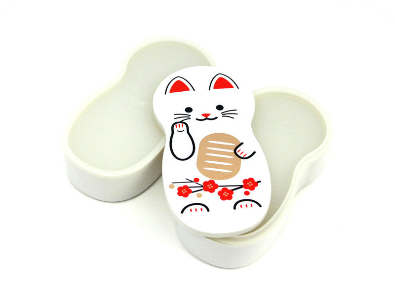 Maneki-Neko Doll White by Hakoya - Bento&co Japanese Bento Lunch Boxes and Kitchenware Specialists