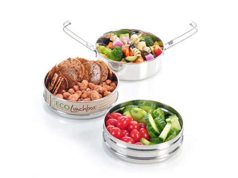 ECO LunchBox Tri Bento by ECO Lunch Box - Bento&con the Bento Boxes specialist from Kyoto