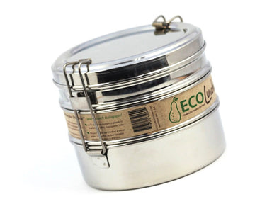 Stainless Steel ECO Lunch Box Tri Bento by ECO Lunch Box - Bento&co Japanese Bento Lunch Boxes and Kitchenware Specialists