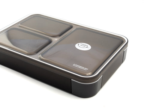Foodman Bento Box 600 ml | Gray by CB Japan - Bento&co Japanese Bento Lunch Boxes and Kitchenware Specialists
