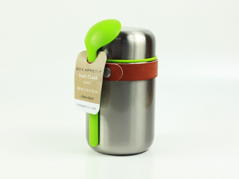 Black + Blum Box Appetit Steel Food Flask | Lime