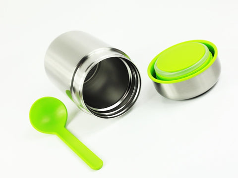 Black + Blum Box Appetit Steel Food Flask | Lime by Black + Blum - Bento&con the Bento Boxes specialist from Kyoto