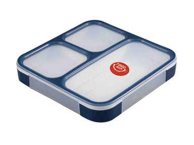 Foodman Bento Box 800ml | Navy by CB Japan - Bento&co Japanese Bento Lunch Boxes and Kitchenware Specialists